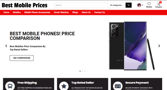 Bestmobileprices.net Is a Price Comparison Affiliate Website, User Can Subscribe Price Alerts See Price History Compare Prices.